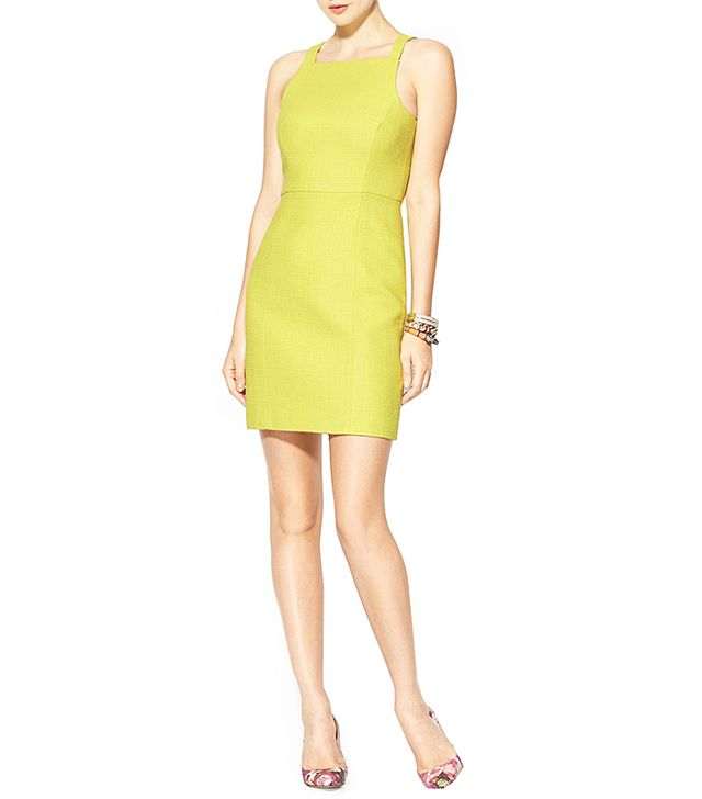 Great for day or night!  4. Collective Basketweave Dress ($285) in Daquiri