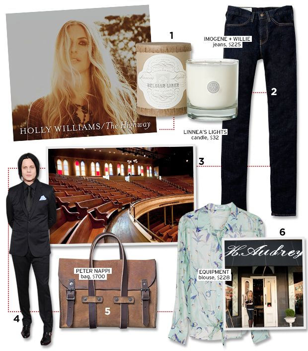 Country Singer Holly Williams On Her Favourite Nashville Hotspots.