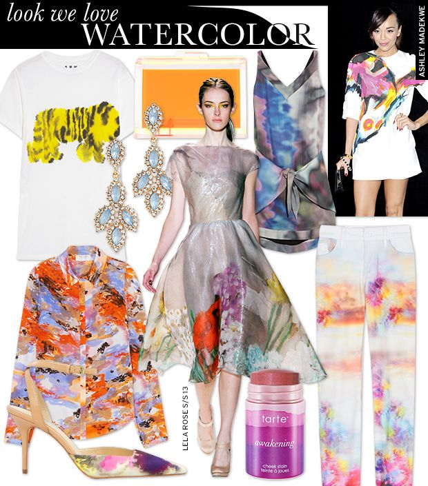 Paint The Town In These Watercolor Prints