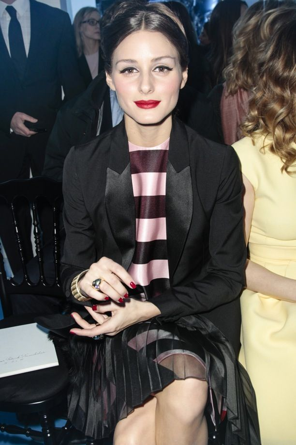 PFW Front Row: Christian Dior F/W 2013