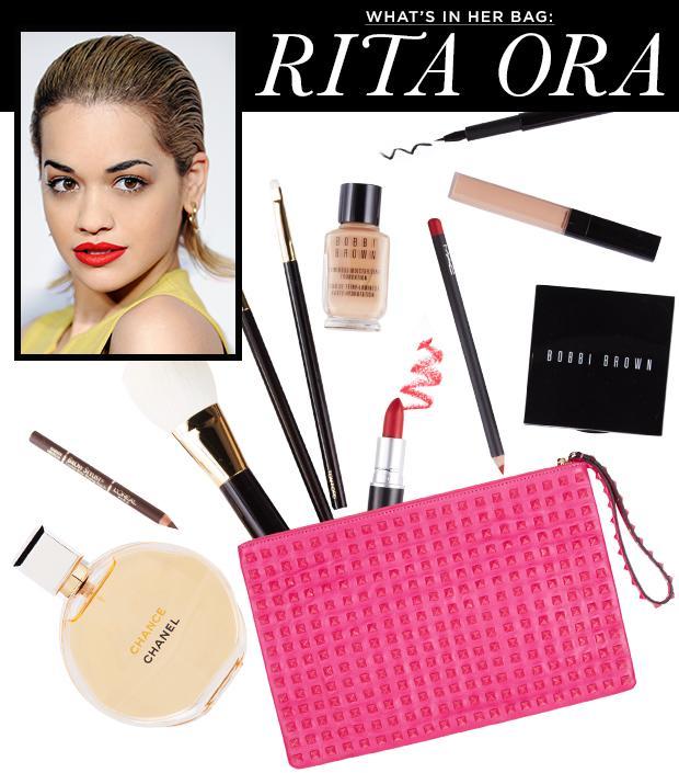 What's in her Bag: Rita Ora