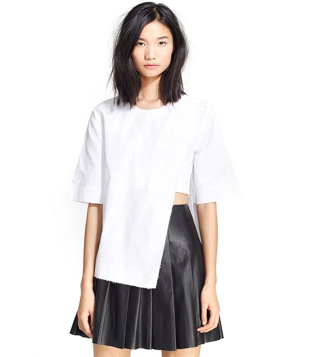 Alexander Wang Asymmetrical Tee ($650)
