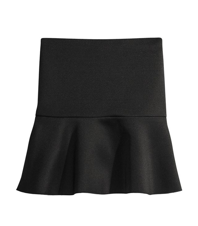 H&M Short Scuba Skirt ($18)