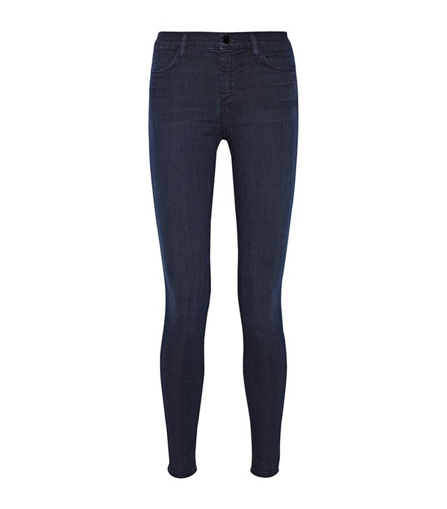 J Brand The Maria Stocking High-Rise Skinny Jeans ($250)