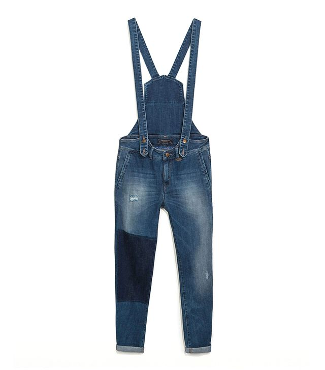 Zara Denim Dungarees ($80)