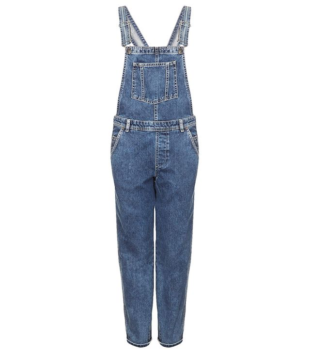 Topshop Moto Long Leg Dungarees ($96)