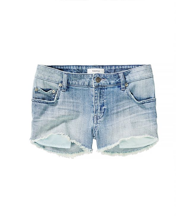 Classic Denim Cutoff Shorts 