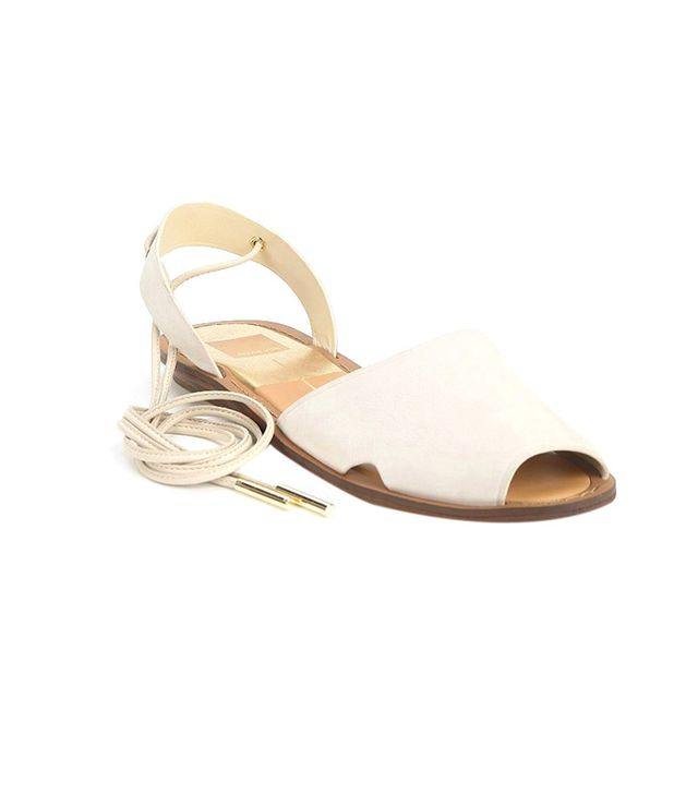 Dolce Vita Damalis Lace-Up Avarca Sandals ($119)