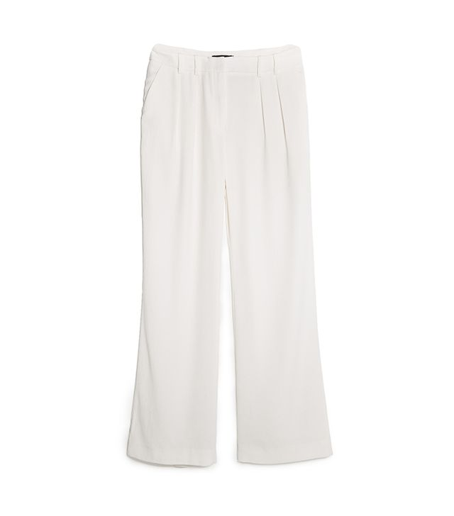 Mango Pleated Crepe Trousers ($60)  A Jagger-inspired suit for less than $200 is a steal, if you ask us.