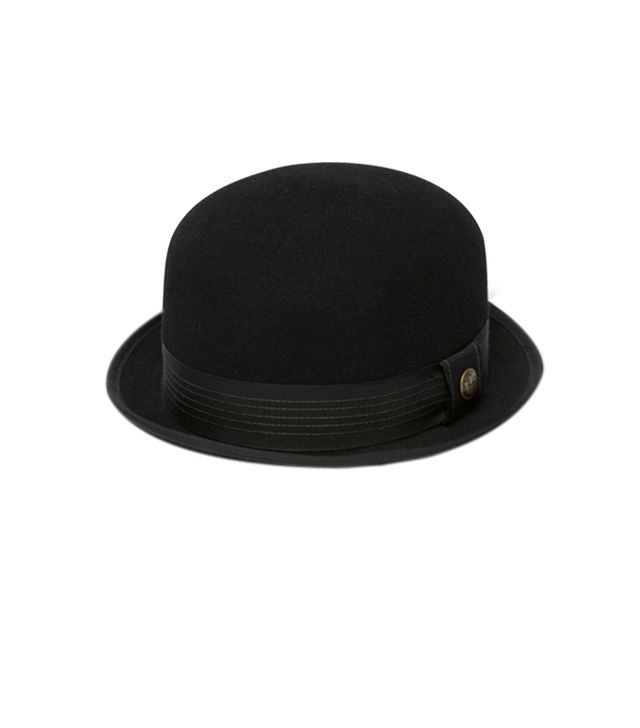Goorin Heritage Samson Bowler Hat ($120)  There's something so fun and flirty about a bowler hat—try this one!