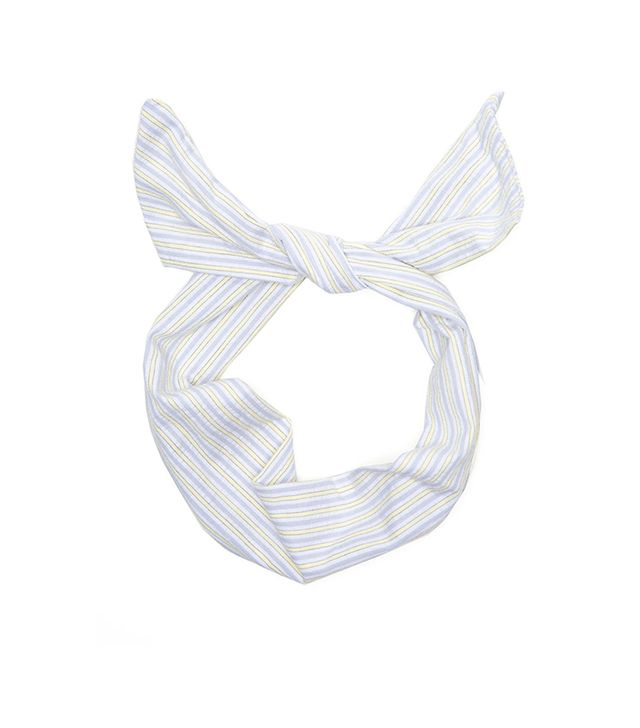 American Apparel Printed Cotton Twist Scarf ($14)  We love the nautical vibe on this headscarf.