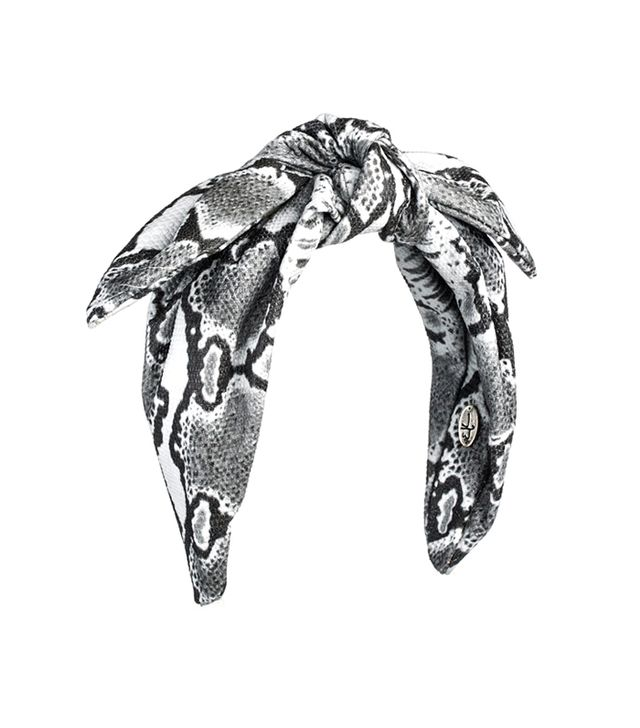 Eugenia Kim Phoebe Headband ($240)  Not skilled at tying scarves? We suggest this knotted headband.