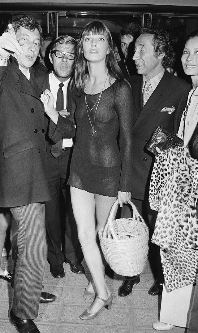 Jane Birkin  We admire Birkin's ability to blend sexuality with style, which is why we had to include this insanely adventurous evening ensemble.