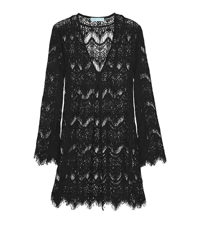 Melissa Odabash Elizabeth Crochet-Knit Kaftan ($385)  Can you imagine the amount of beach envy that will happen if you wear this crocheted number? Lots.
