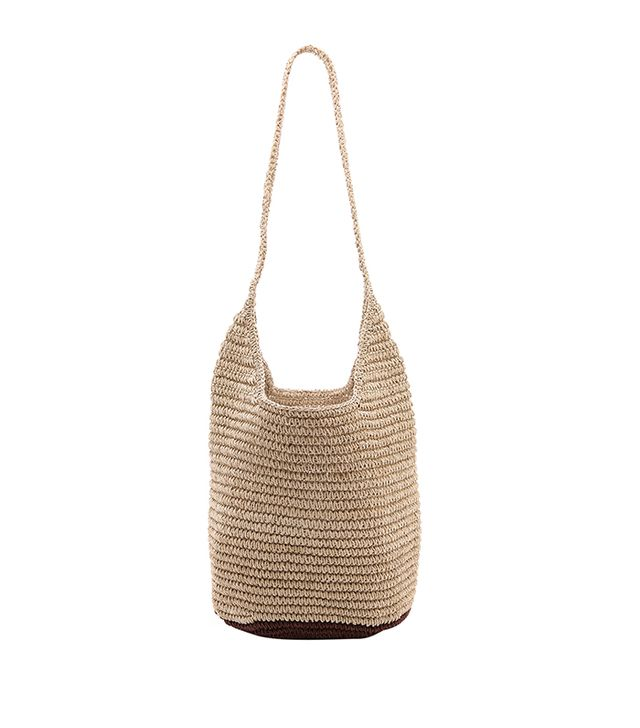 Bop Basics Twisted Colorblock Hobo ($100)  We suspect you'll be reaching for this woven bag every weekend this summer.