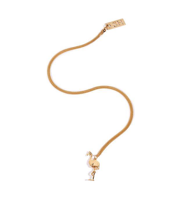 Sophie Hulme Flamingo Necklace ($171)