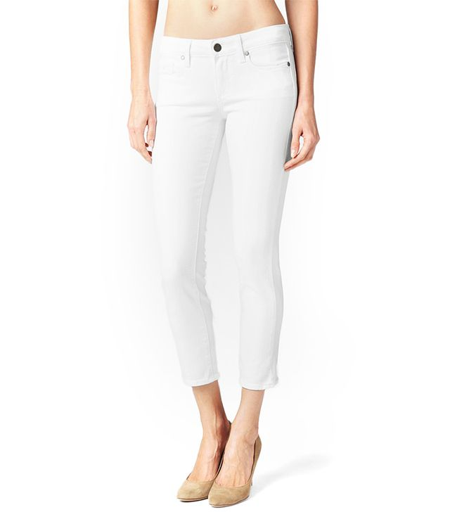 Paige USA Kylie Crop Jeans ($179)  A pair of white jeans is a summer investment worth making.