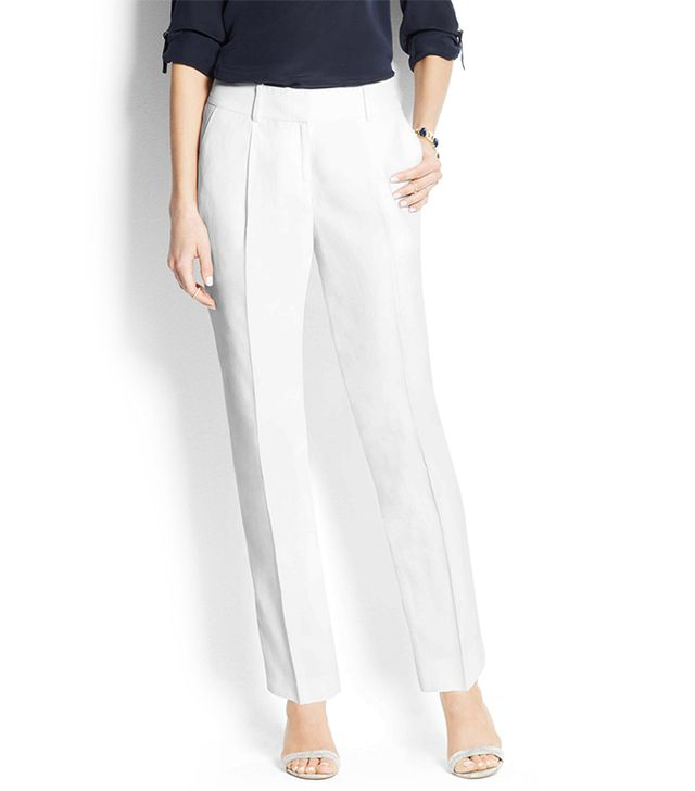 Ann Taylor Wide-Leg Cropped Pants ($89)  These would mix-and-match with all of your work and play pieces. Read: Day-to-night transitional piece.