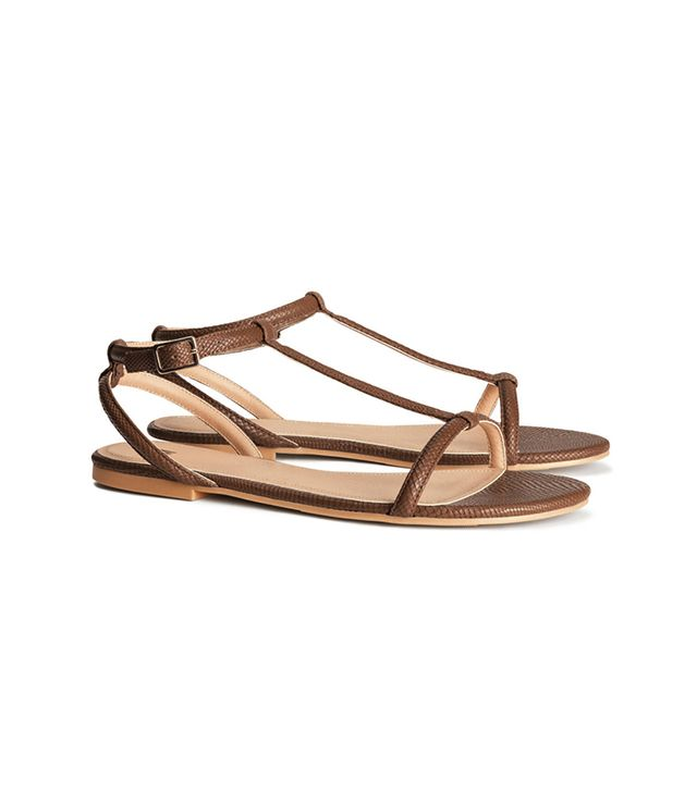 H&M Strappy Sandals ($18)  At this price point, these sandals are the perfect beachside footwear choice.