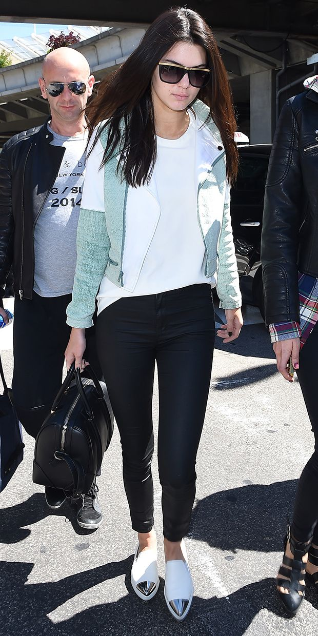 Kendall Jenner Arrives At Cannes In Style