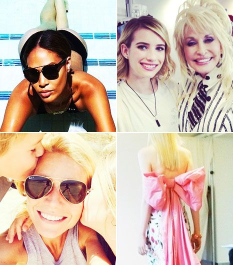 The 23 Best Celebrity Instagrams You Missed This Week