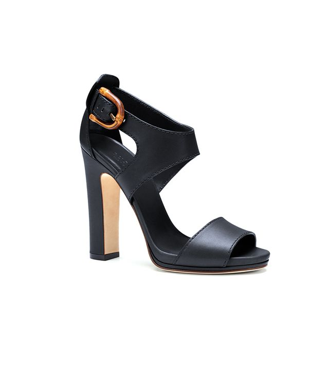 Gucci Nadege Leather Sandals ($795) in Black