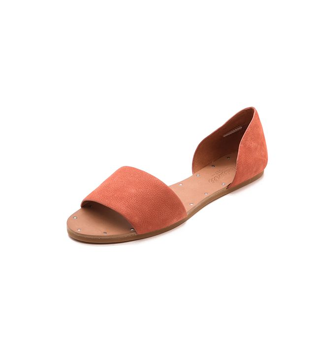 Madewell Thea Sandals ($98) in Rusted Clay