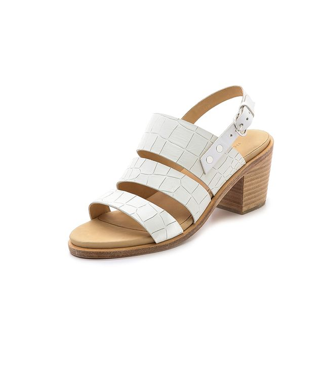 Rag & Bone Folsom Sandals ($315) in White