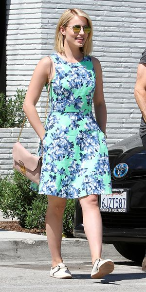Dianna Agron Steps Out In Our Favourite J.Crew Dress