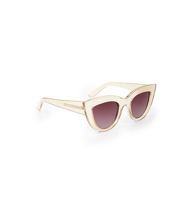 BCBGMAXAZRIA Novelty Cat-Eye Sunglasses ($99)