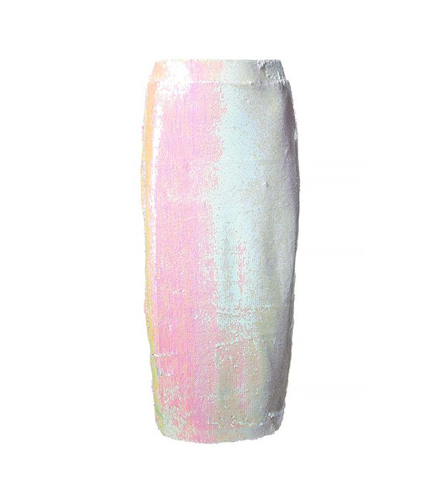 Filles A Papa Hilary Sequinned Skirt ($366)