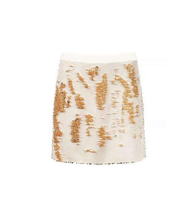 Ted Baker Joleigh Sequin Mini Skirt ($324)