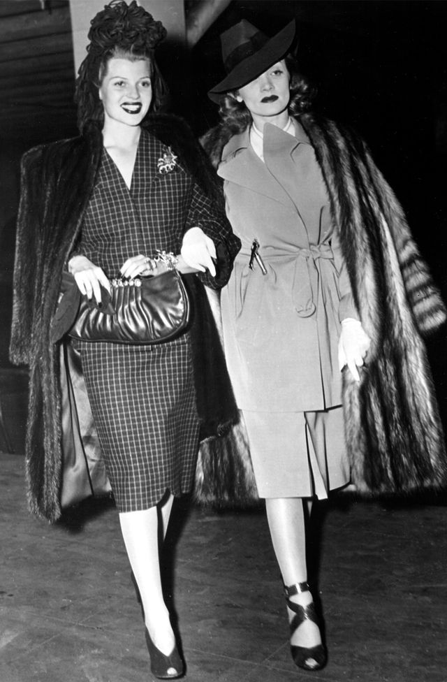 Who: Rita Hayworth and Marlene Dietrich