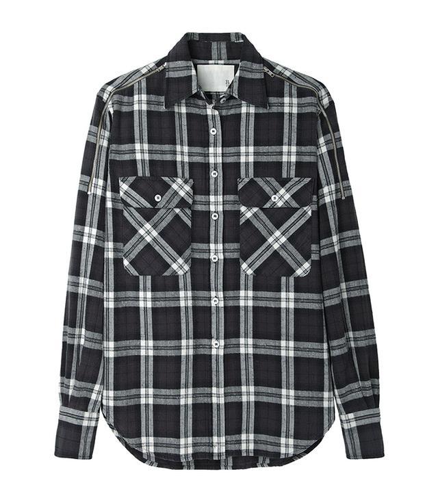 Get The Look:  R13 Zip Shoulder Flannel Shirt ($277)