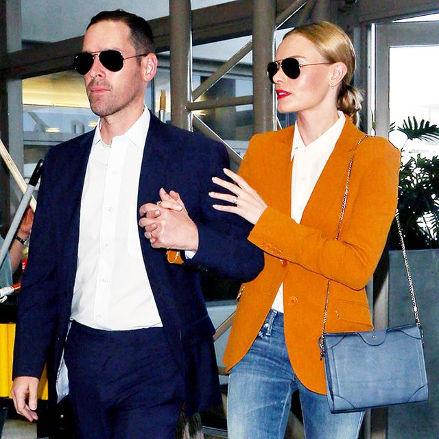 A Study in Kate Bosworth's Flawless Airport Style