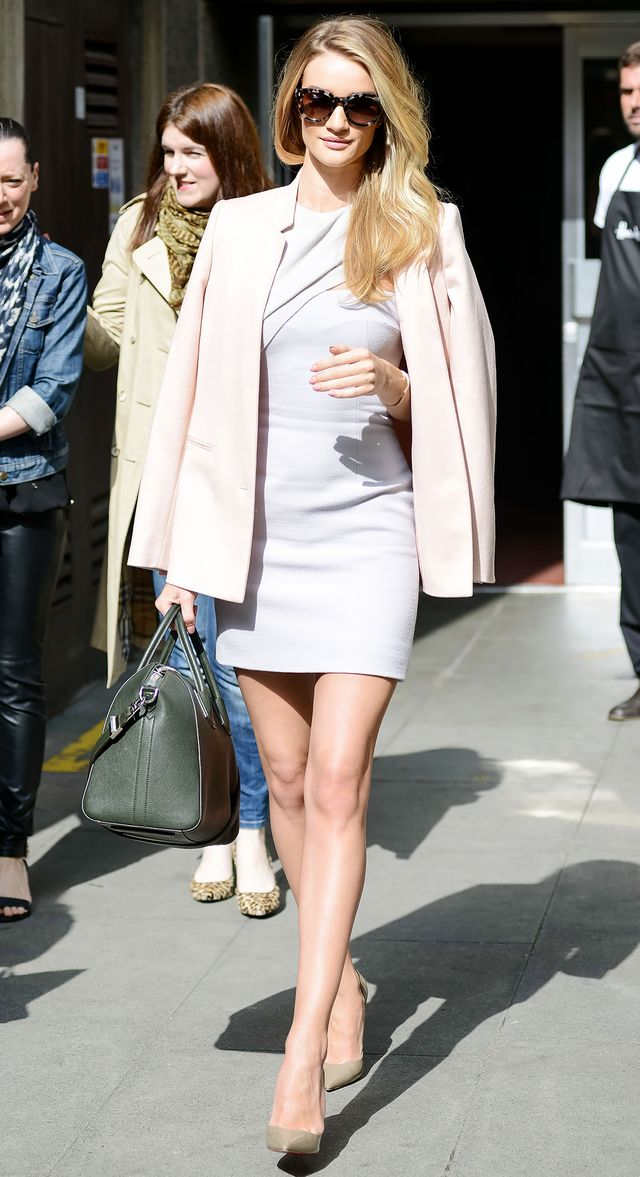 Rosie Huntington-Whiteley turned heads at the Vogue Fashion Festival in London earlier this year, wearing a Stella McCartney blazer, Marios Schwab dress, Fendi sunglasses, Christian Louboutin...