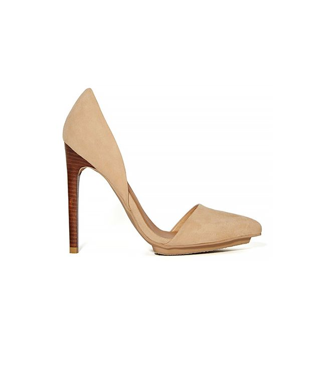 Shoe Cult Nicole Pumps ($78) in Nude