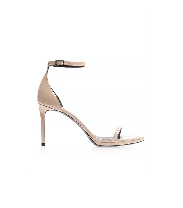 Saint Laurent Jane Patent Leather Sandals ($788)