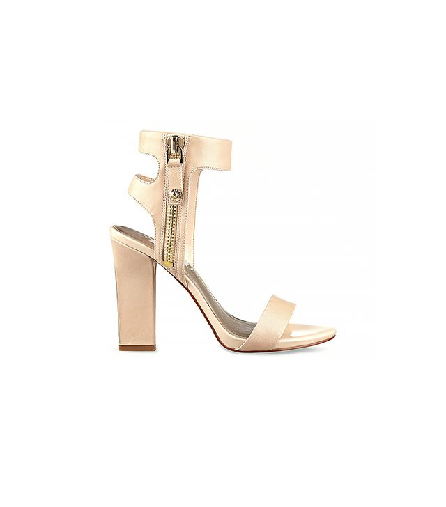 Guess Brodi High Heel Sandals ($110) in Brittle