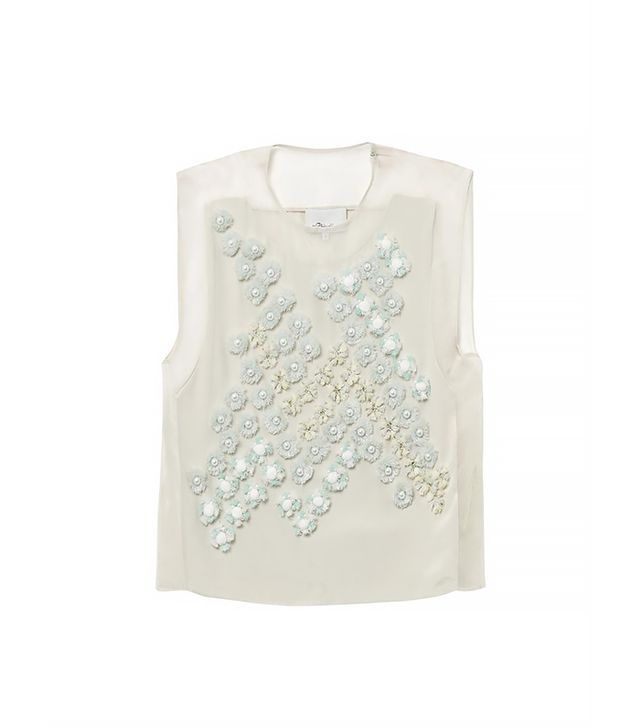 3.1 Phillip Lim Dandelion Embellished Silk Top ($332)