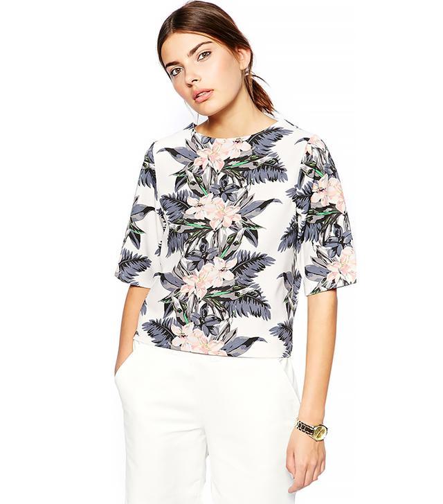 ASOS T-Shirt ($61) in Hawaiian Print  Meet your new go-to summer top.