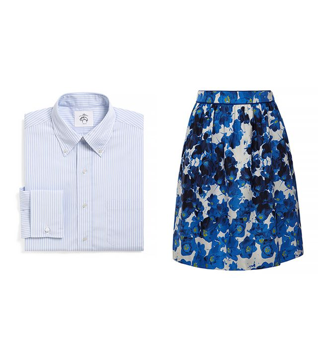 Brooks Brothers Button-Down Striped French Cuff Shirt ($150)