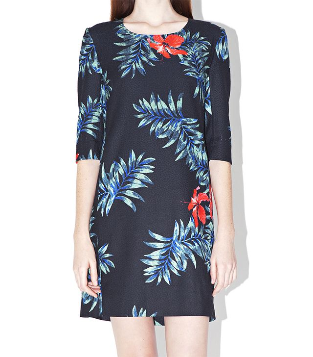 Surface To Air B Dress ($420)  Just imagine how perfect this tropical-print dress will look with a straw hat and slip-on sandals!