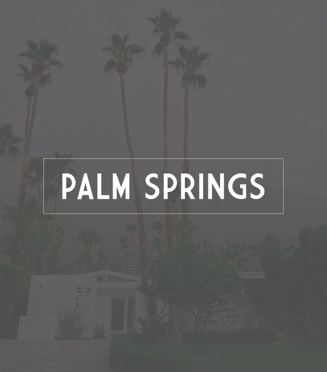 Destination: Palm Springs