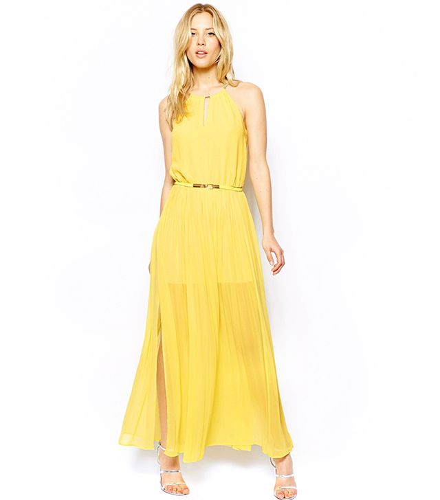 Oasis Chain Neck Maxi Dress ($133)