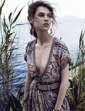 Anaïs Pouliot In Romantic Boho Summer Looks For L'Officiel Paris