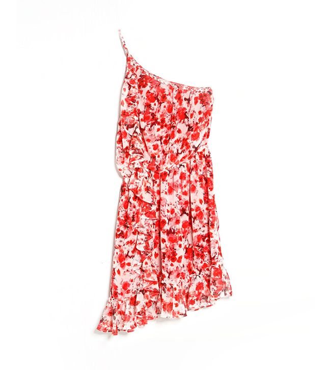 For The Girls: Mango Floral Asymmetric Dress ($40)  A colorful, floral-print dress screams tropical vacation!