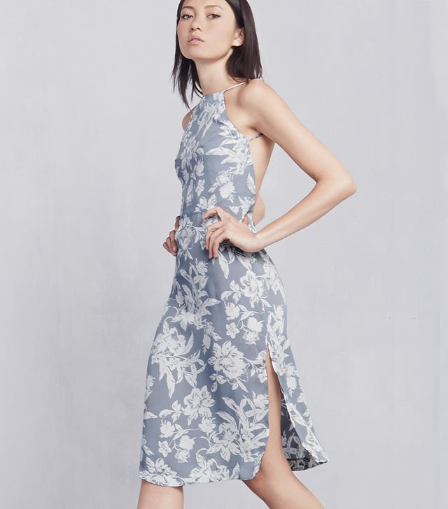 Reformation Eve Dress ($198) in Nantucket