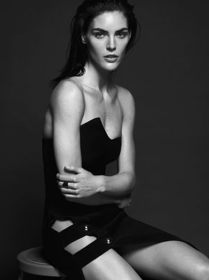 Hilary Rhoda's Strong And Sexy Shoot For Models.com