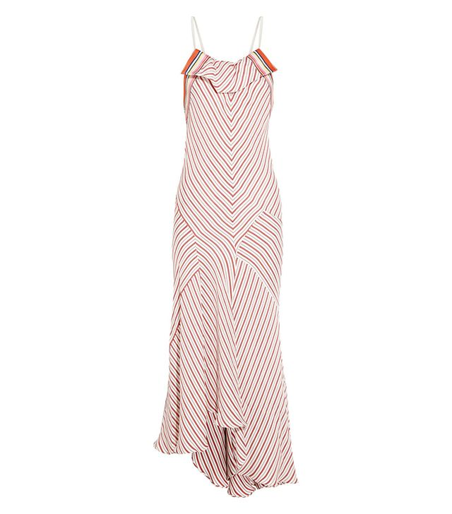 Chloe Striped Crepe Dress ($3070)